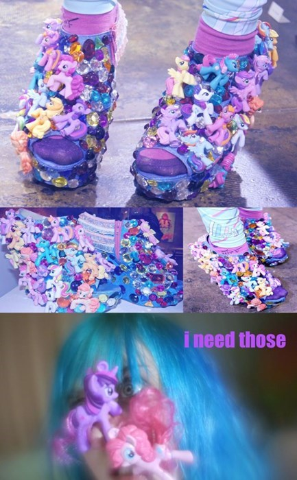 shoes poorly dressed my little pony - 8042657280