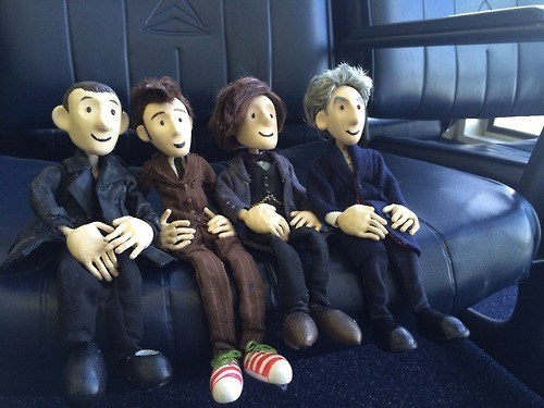 10th doctor 12th Doctor 11th Doctor 9th doctor puppets - 8042659840