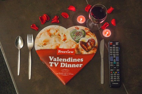 Sad TV dinner dinner funny Valentines day g rated dating - 8042712576