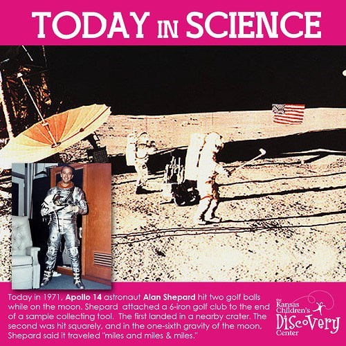golf 1971 science astronaut funny
