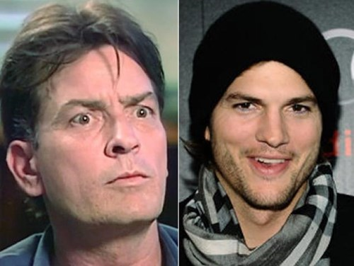 jimmy kimmel twitter ashton kutcher two and a half men Charlie Sheen - 8043115264
