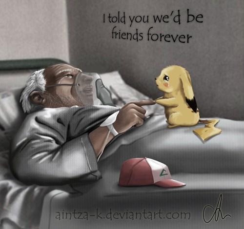 Sad Pokémon Fan Art feels pikachu - 8043143680