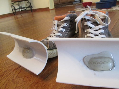 shoes snow life hacks DIY winter - 8043230208