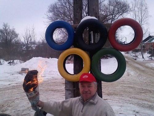 merica DIY olympics Sochi 2014 - 8043349504