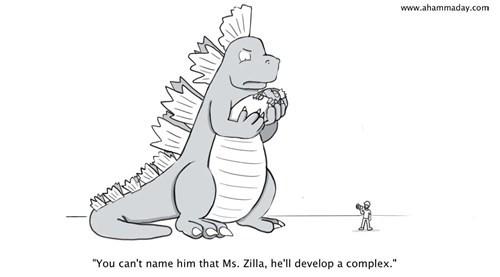 godzilla,web comics