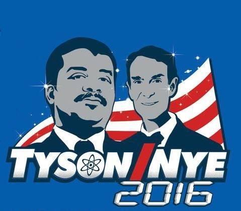 bill nye Neil deGrasse Tyson ndt tyson/nye 2016 - 8043424768