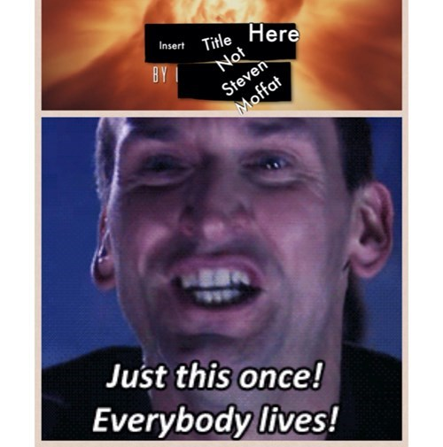 everyone lives 9th doctor Steven Moffat - 8044247808