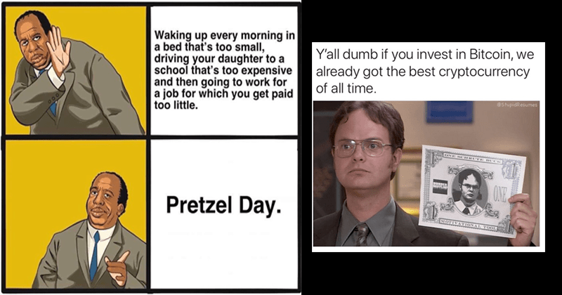 Funny memes about the office.