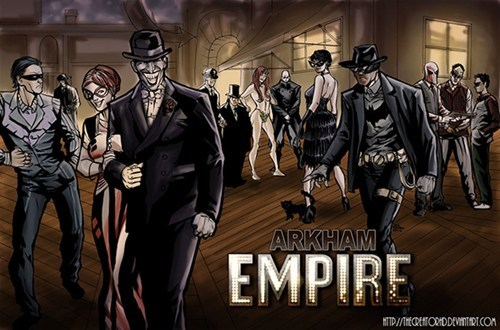 roarin 20s,Fan Art,arkham,boardwalk empire,batman