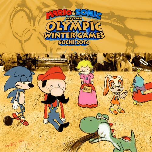 Sochi 2014,video games,mario,sonic
