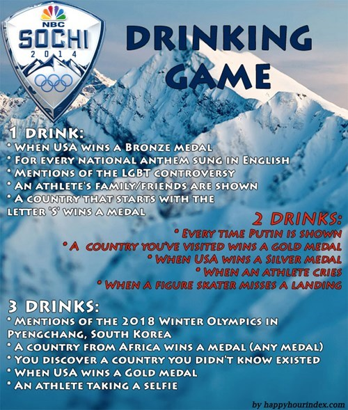 Sochi 2014 funny drinking games olympics after 12 g rated - 8046027008