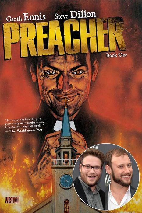 comics,amc,seth rogan,preacher