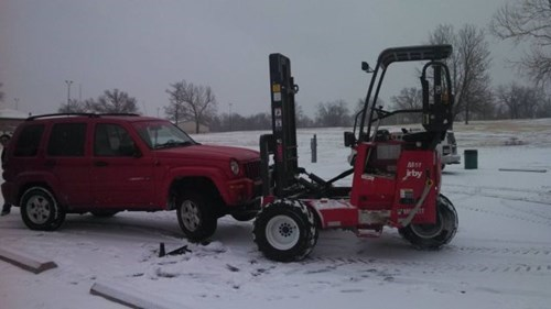 monday thru friday forklift parking lot work - 8046172928