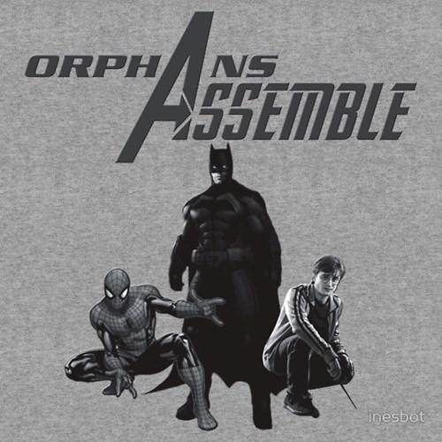 Harry Potter,tshirts,orphans,batman,Spider-Man