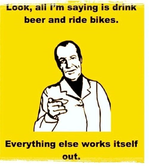 beer hipsters bikes funny - 8046465280