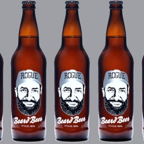 beer beard rogue brewery funny - 8046478592