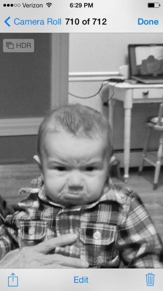 baby parenting grumpy Photo - 8046566144