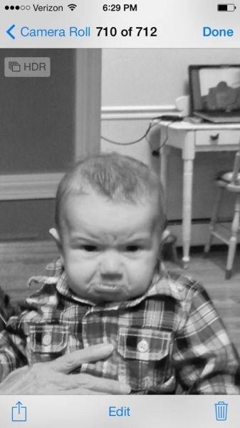 baby parenting grumpy Photo - 8046566144
