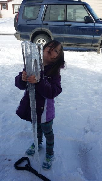 kids,parenting,icicle,winter
