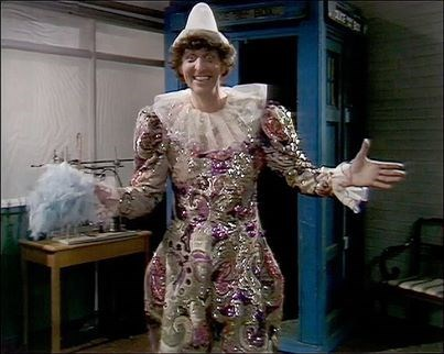 classic who clown 4th doctor tom baker - 8046771968