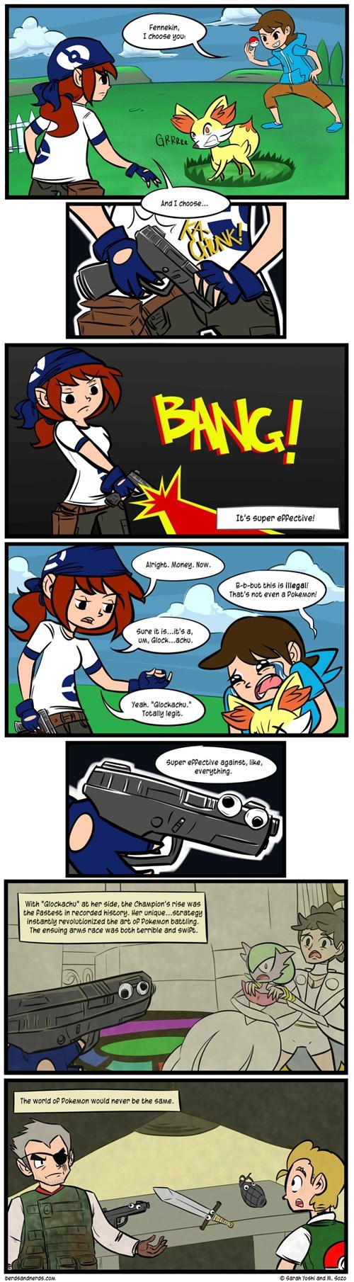 guns Pokémon web comics - 8046843136