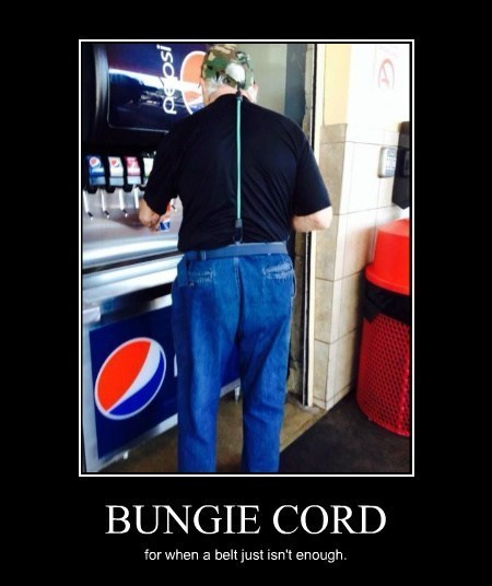 old man pants genius bungie cord funny - 8046870016