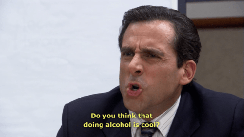 cool,alcohol,the office,funny