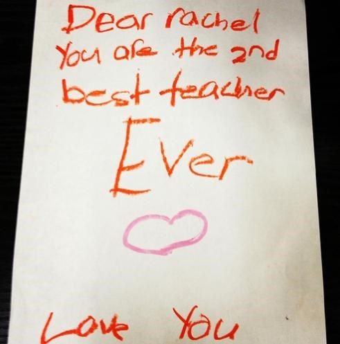 kids letters teachers parenting