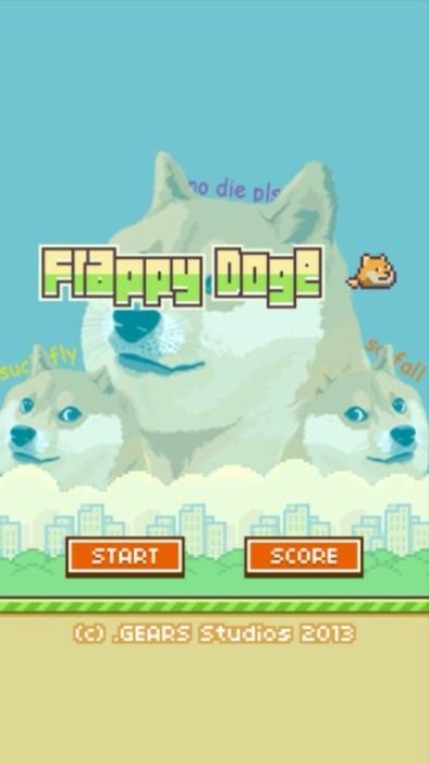 doge,flappy bird