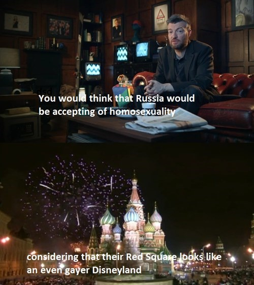 russia Moscow Sochi 2014 Charlie Brooker red square olympics - 8047138304
