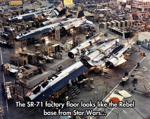 sr-71 star wars planes movies blackbirds The Empire Strikes Back air force - 8047220736