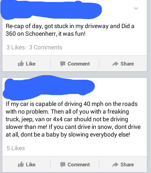 snow cars driving irony - 8047582464