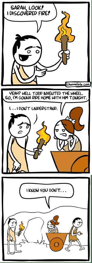 dating history cavemen web comics - 8047946240