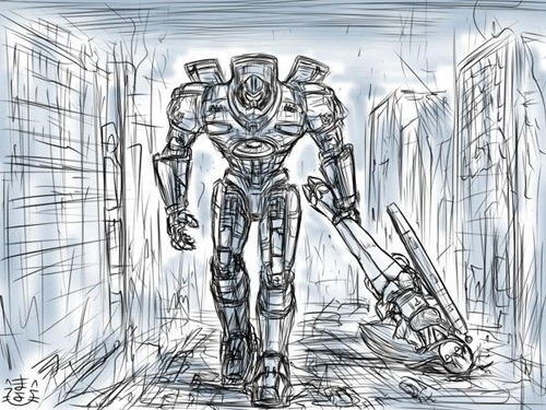 Fan Art pacific rim - 8048150528
