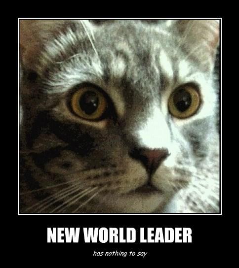 NEW WORLD LEADER