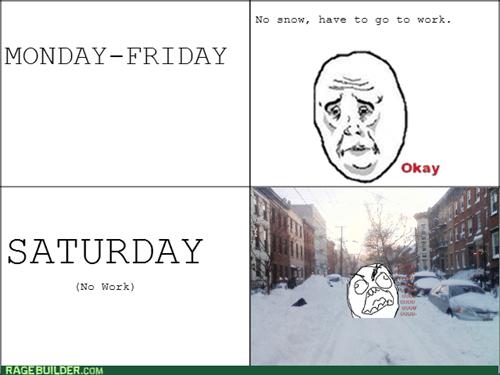 rage snow weekend Okay - 8048628992