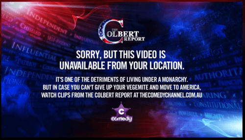 australia,stephen colbert,the colbert report
