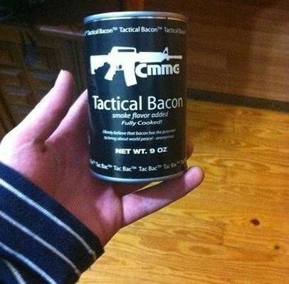 bacon,food,tactical bacon