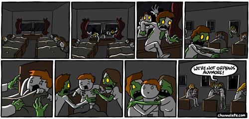 orphans zombie web comics - 8049190400