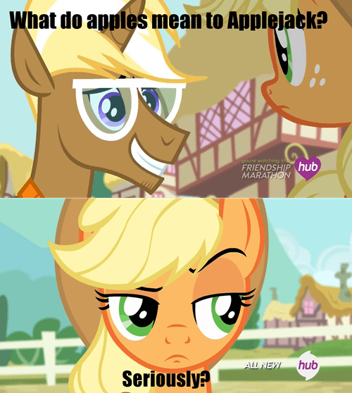 applejack,trenderhoof,apples