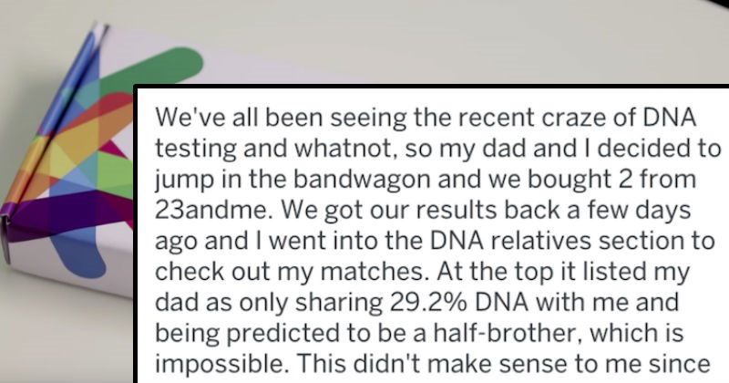 dna test causes chaos in family