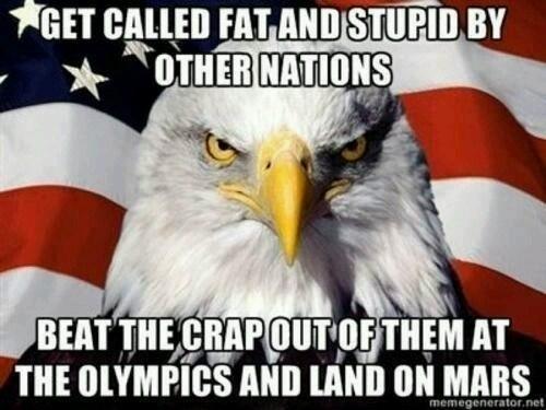 american eagle olympics Mars Sochi 2014 - 8050567424