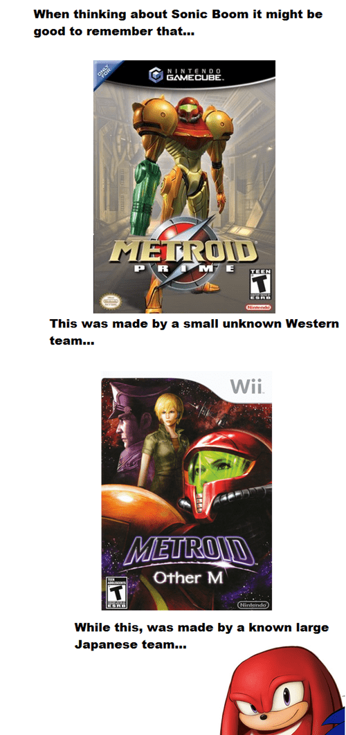 Metroid,sonic boom