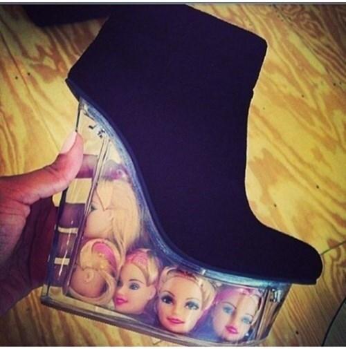 the governor shoes Barbie creepy - 8050936576