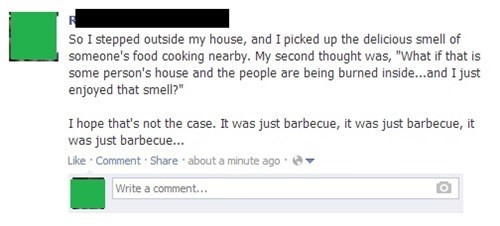 Perfectly seasoned barbecue...