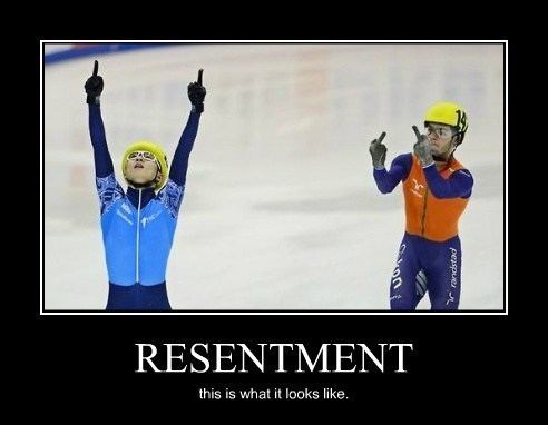 middle finger resentment funny olympics - 8052281344