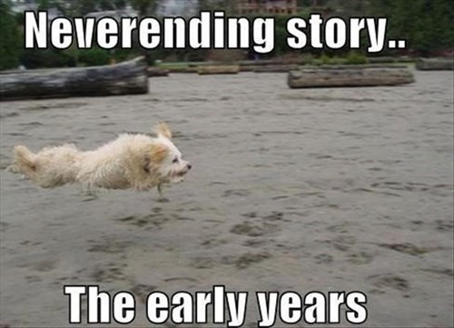 dogs movies neverending story funny