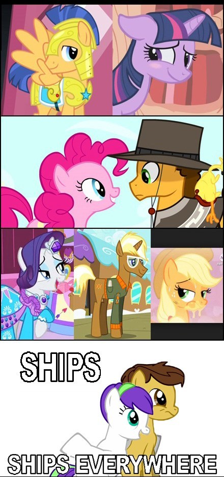 mane 6 MLP mlp season 4 ship - 8052637440