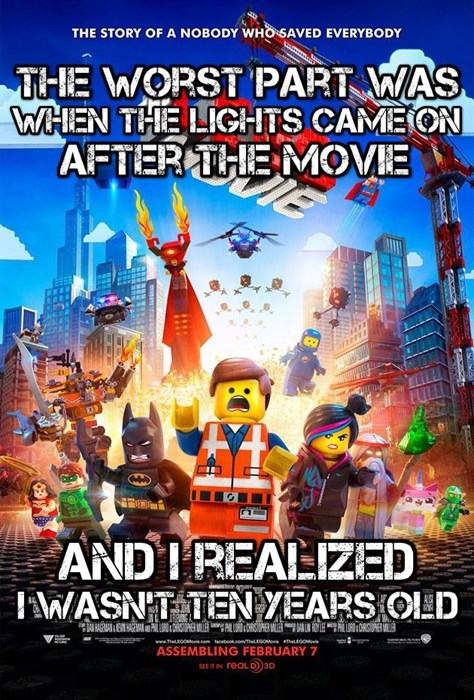 the LEGO movie legos - 8053042944