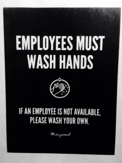 washing hands bathrooms employees - 8053045248